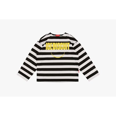 [20% SALE] Icebiscuit smile stripe tee