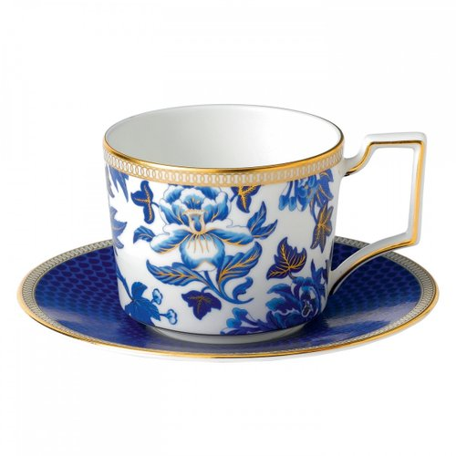 [해외직구][웨지우드] Hibiscus Teacup and Saucer
