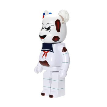 1000% BEARBRICK STAY PUFT MARSHMALLOW MAN (ANGER FACE)