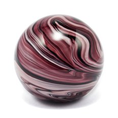 RO Glass Paper Weight Ø8.5 Purple