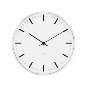 아르네야콥센 Wall Clock City Hall Ø16 (43621)