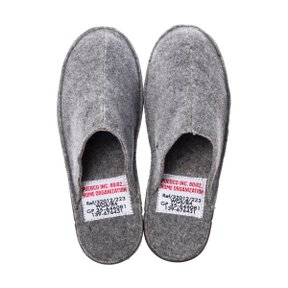 SLIPPER Large Light Gray