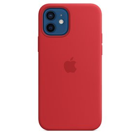 MagSafe형 iPhone 12, 12 Pro 실리콘 케이스 - (PRODUCT)RED(MHL63FE/A)