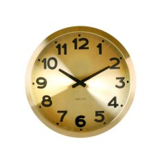 Gold Numbers wall clock KA5408GO