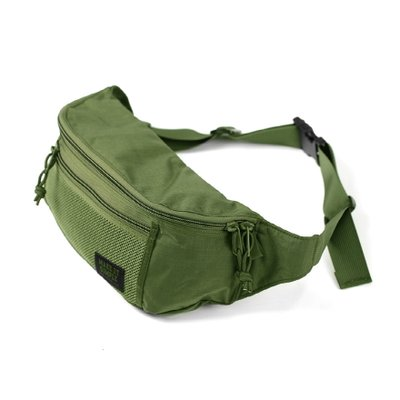 [MIS]Mesh Waist Bag - Camo Green