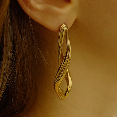 Flow Twist Earring(1EA)
