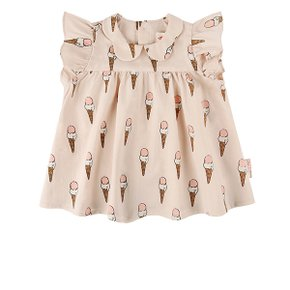 Multi ice cream cone baby girl blouse / BP8234241