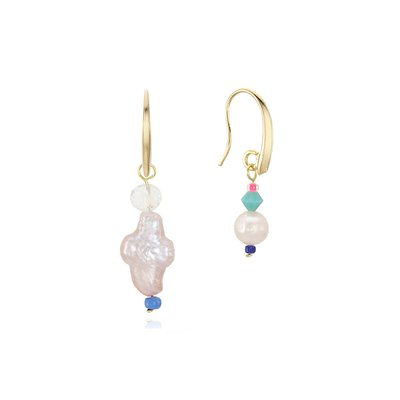 [뷔 착용]Unbalance Beads Hook Earring
