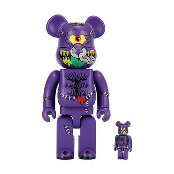 400%+100% BEARBRICK HORN HEAD