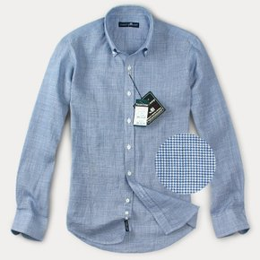 [FOREST CAMP]Linen Check Shirts/체크 린넨 셔츠/마[FCYL4152-D/B Check]
