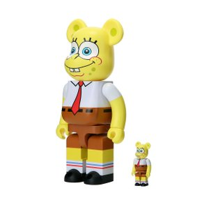 400%+100% BEARBRICK SPONGEBOB
