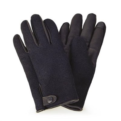 [어그] 남성 SNAP TAB FABRIC TECH GLOVE_BLACK