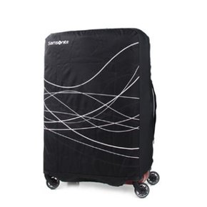 캐리어커버 FOLDABLE LUGGAGE COVER S_BLACK (Z3409060)
