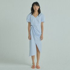 Halfmoon Side Dress [Light Blue]