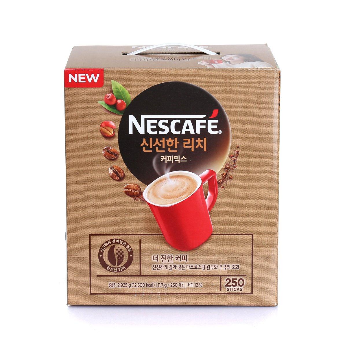 [NESCAFE] 신선한 리치 커피믹스 2925g(11.7gx250)