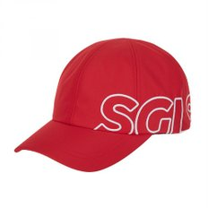 SGLS logo sideover cap (Red)(SXCP01911)