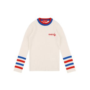 Wendy  color block sweater/IB9105623