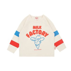 Milk factory long sleeve tee