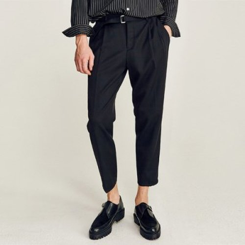 c0d9b9e2634 GURKHA CROPPED SLACKS (BLACK)