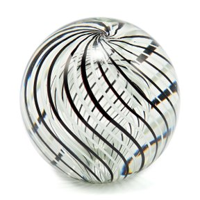 RO Glass Paper Weight Ø12 B&W
