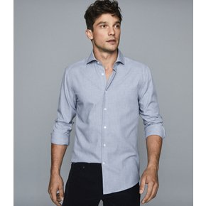 REISS/LS BRUSH TWILL FLANEL REG FIT(6719315011)