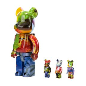 400%+100% BEARBRICK PUSHEAD 4SET
