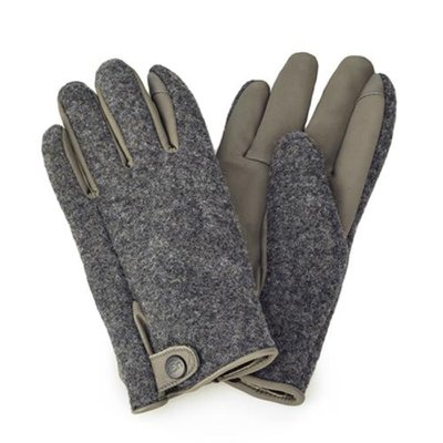[어그] 남성 SNAP TAB FABRIC TECH GLOVE_CHARCOAL