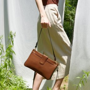 DOUBLE BAG _ TAN BROWN