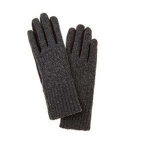 [COURONNE] Lambskin Mix Knit Gloves_RCHAX19821GYX
