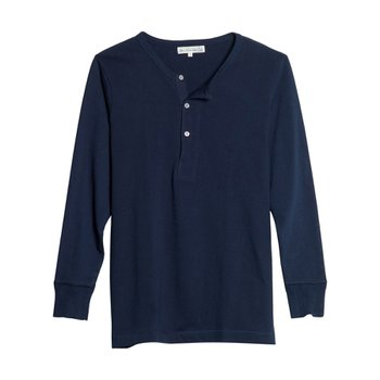 206 HENLEY LONG SLEEVE INK BLUE