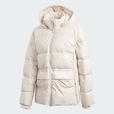(WOMENS)여성용 A 라인 퍼프 GLOSSY A-SHAPE DOWN PUFFER JACKET(GD2499)