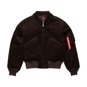 CWU 45/P CORDUROY DEEP BROWN
