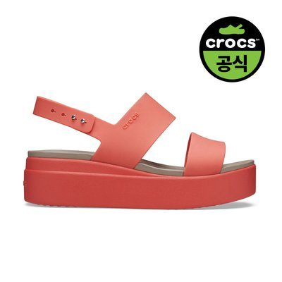 크록스공식 여성 CROCS BROOKLYN LOW WEDGE W ORA (20SWWD206453)