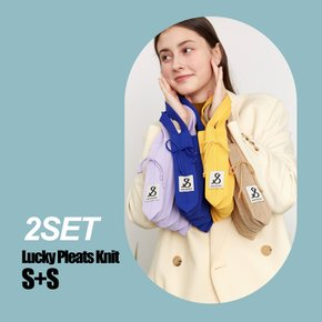 [2SET] Lucky Pleats Knit S+S (0JSJ1TT405123)