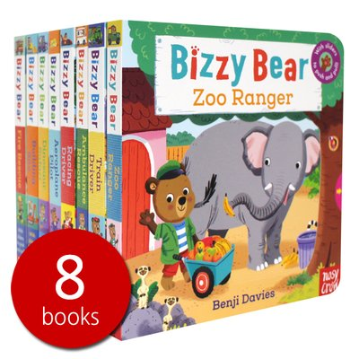 비지베어 Bizzy Bear Steady Seller 8 Books Set 1 조작북