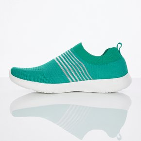 ◆ Mesh stripe aqua shoes (Green)(SYSH01841)