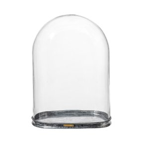 GLASS DOME H40