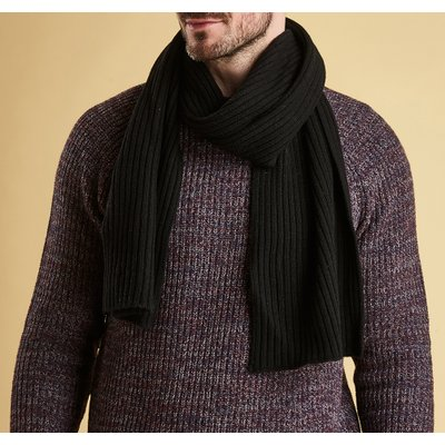 바버 칼튼 스카프 블랙 (Barbour Carlton Scarf Black ) BAH2USC0273BK11