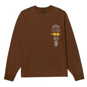 [골스튜디오] SSFC JERSEY SINGLE LONG SLEEVE - BROWN
