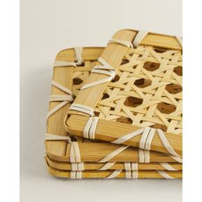 BAMBOO COASTER (PACK OF 4) 43322550052