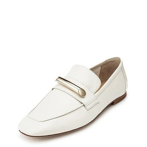 Metal loafer(ivory)_DG1DX19514IVY