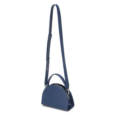 FENNEC HALFMOON FRAME BAG - DUSTY BLUE