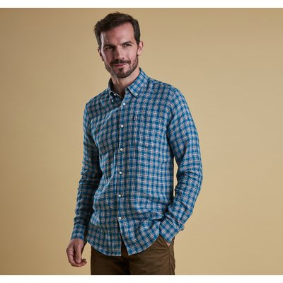 펠릭스 셔츠 그린(Barbour Felix Shirt (TF) GN)BAH1MSH4167GN51
