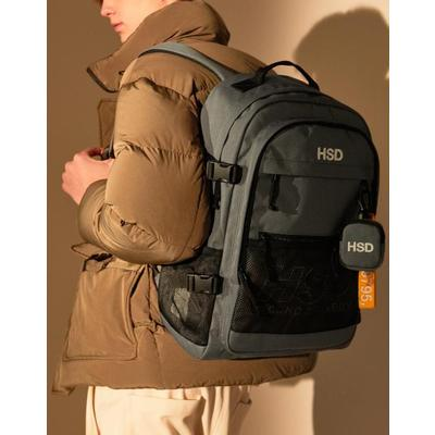 [헤지스ACC] HSD [20SS] GREY LARGE BACKPACK HABA0E212G2