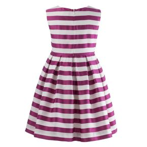 Striped Damask Dress
