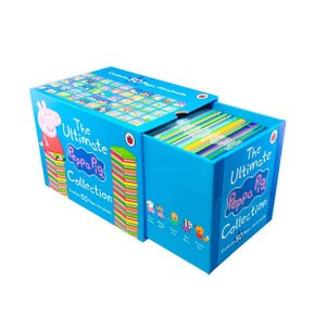 [영어원서] The Ultimate Peppa Pig Collection : 50 Book Box Set (Paperback, 영국판)