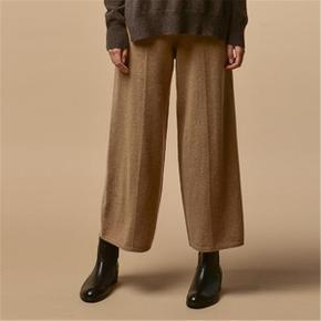 Loose Fit Pants_Dark Beige