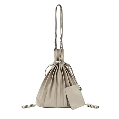 [조셉앤스테이시] Lucky Pleats Shopper Ecru Beige
