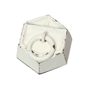 200g-PAPER WEIGHT & CARD HOLDER White