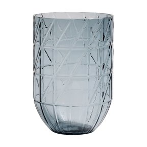COLOUR VASE L BLUE